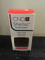 Cnd Shellac Power Polish Uv Gel Nail Color Coat You Pick Color - In Box