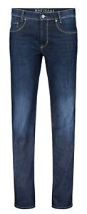 Mac-Arne-Blu-Scuro-Authentic-Pietra-Used-Look-Jeans-Uomo-0508-01-0955L-H637