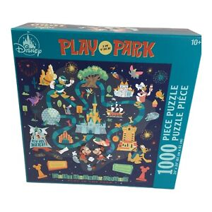 Disney Parks Mickey Minnie Mouse Play In The Park 1000 Piece Puzzle New 2021