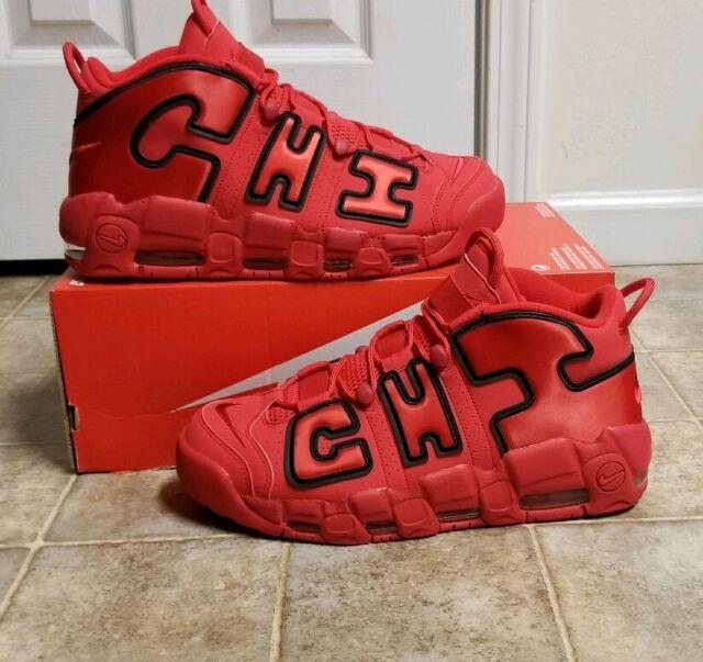 477e777d1f023 Nike Air More Uptempo Chi Qs Men's Sz 12 NEW AJ3138-600 Pippen NoLid SP PRM