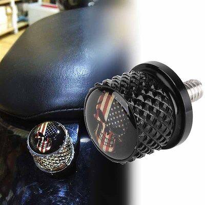 Amerikanische Flagge Skull Edelstahl Sitz Bolzen Billet Fit Für Harley Sportster