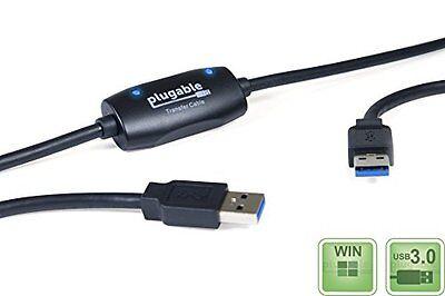 XP 8 8.1 Plugable Windows Transfer Cable for Windows 10 Vista Includes 7