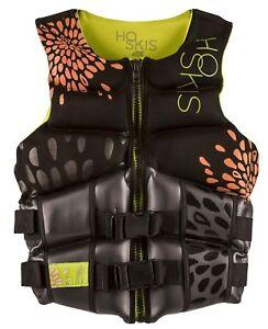 NEW-150-Womens-HO-Couture-Team-CGA-Vest-Water-Ski-Life-Jacket-Ladies-Black