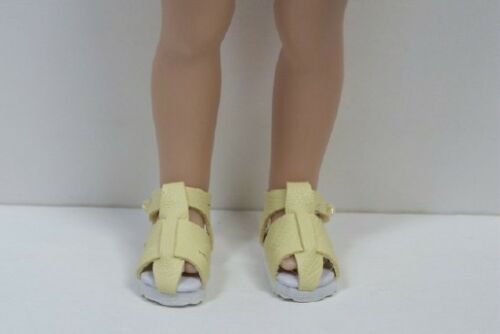LT YELLOW Fisherman Sandals Doll Shoes For Helen Kish Riley Debs