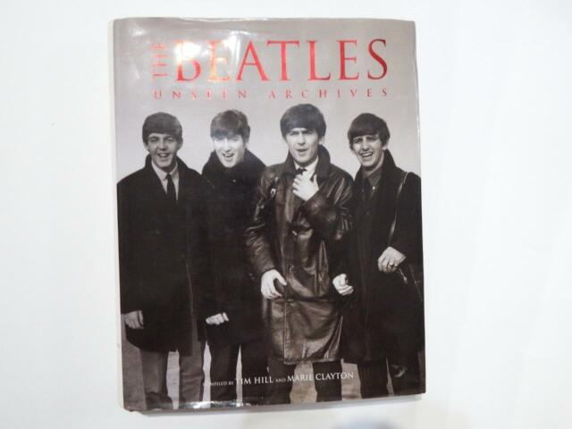 The Beatles Unseen Archives with 600 potographs