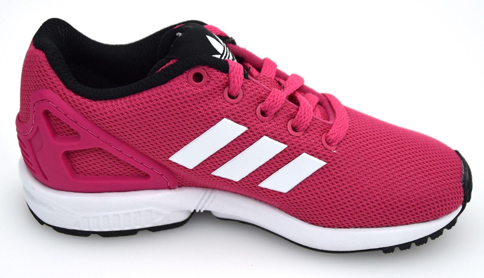 Womens ADIDAS ZX FLUX K NEUF ROUGE gr:36 2/3 s74952 Basket Chaussures Tubular Samba