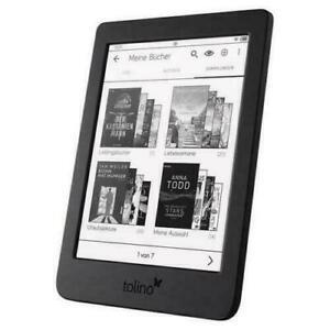 "Tolino page 2 eBook-Reader 6"" Schwarz 8GB Touch-Display Frontlight *OVP*NEU*"