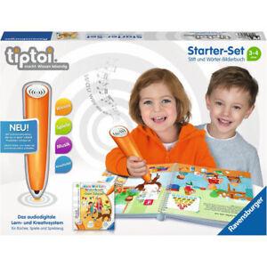 RAVENSBURGER tiptoi® Starter-Set: Stift und Wörter-Bilderbuch Hybrid Lernspiel