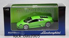 AUTOart LAMBORGHINI MURCIELAGO Metallic Green 1/43 Diecast Model