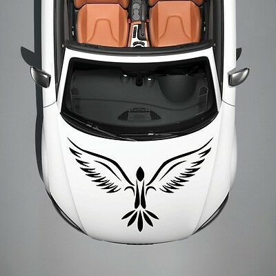 Car Hood Vinyl Decal Graphics Stickers Murals Design Phoenix Bird Tattoo SV4928