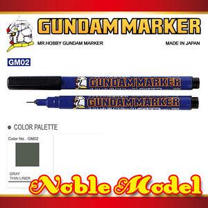 MR-HOBBY-GUNDAM-MARKER-GM02-Gray-Grey-Liner-Paints