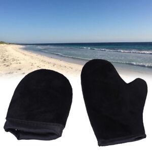 2-set-Skin-care-double-sided-self-tan-glove-self-tanning-glove-ular-velvet-new