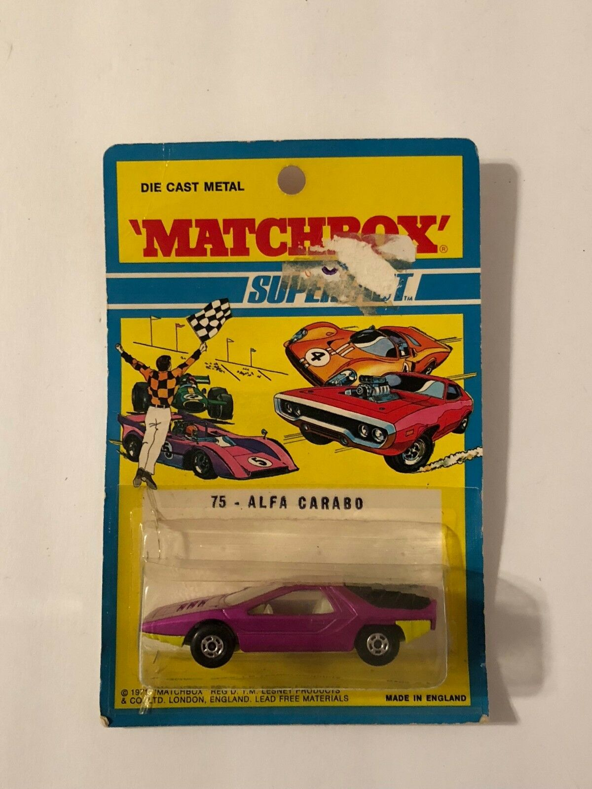 la mejor selección de Matchbox súperfast 75 Alfa Cocheabo 1971 Blister Nuevo Sellado Blisterpack Blisterpack Blisterpack  de moda