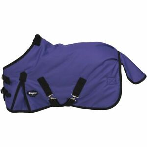 "New Tough-1 Miniature Horse Blanket Waterproof Turnout 36"" Purple Rug Tack"