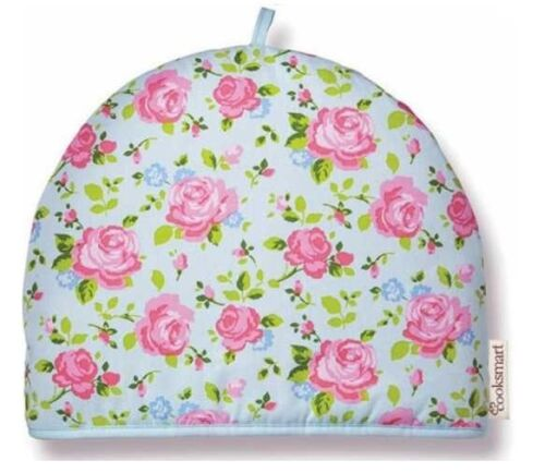 NEW COOKSMART INSULATED TEA POT TEAPOT COSY 100/% COTTON NOVELTY KITCHEN COVER