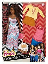 Mattel - Barbie Fashionista Doll - #45 Boho Fringe - Brand New