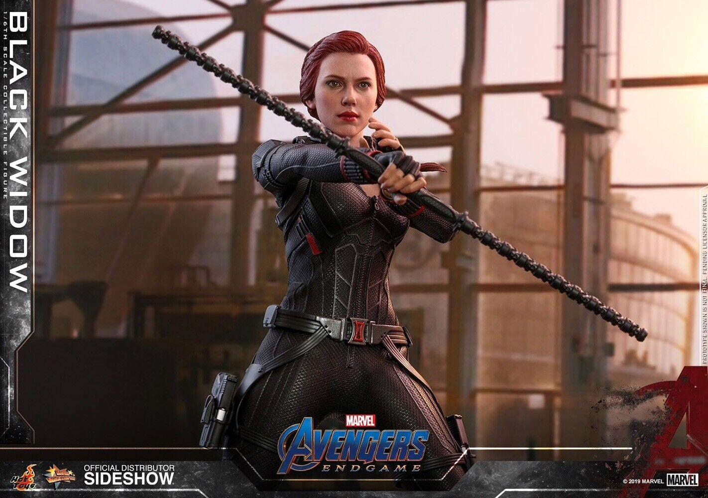 (US) Hot Toys Marvel Avengers Black Widow Endgame NEW! SEALED! on eBay thumbnail