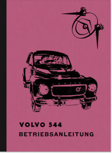 Volvo-PV-544-und-E-Bedienungsanleitung-Betriebsanleitung-Handbuch-User-Manual