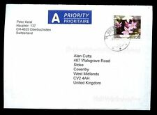 Switzerland 2003 Airmail Cover To UK #C2032