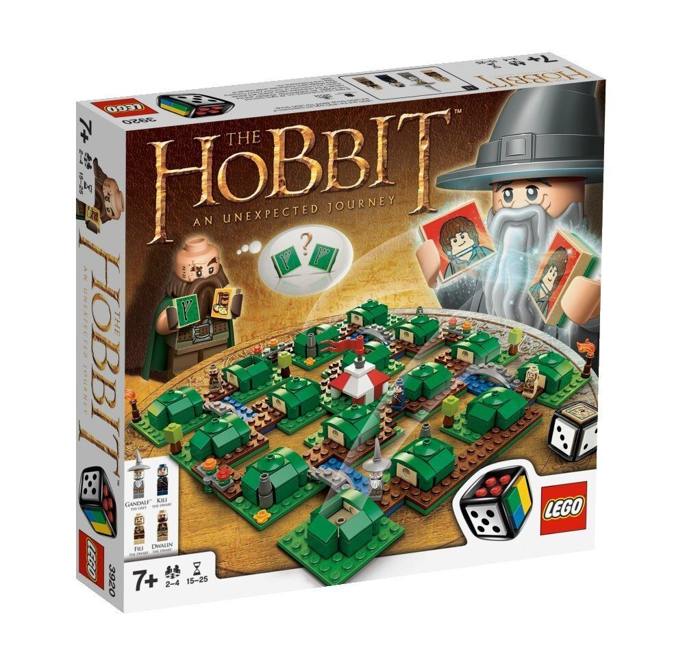 LEGO 3920 - The Hobbit: An Unexpected Journey - Building Board Game - NEW