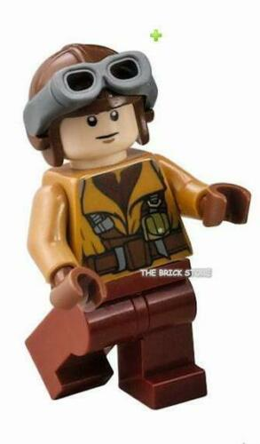 GIFT LEGO STAR WARS NABOO FIGHTER PILOT FIGURE FAST NEW 75092-2015