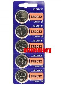 Sony-CR2032-CR-2032-3V-Button-Coin-Cell-Battery-x-5pcs-Brand-new-Genuine-EXP2028