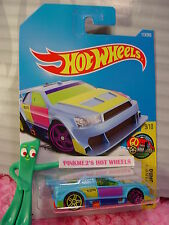 AMAZOOM #113✰blue/orange;R;yellow/magenta pr5✰ART CAR✰2017 Hot Wheels case F