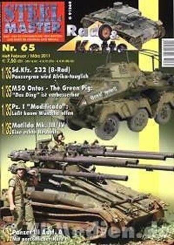 Panzer I, STEELMASTER 65 :Sd.Kfz 232 M50 Ontos