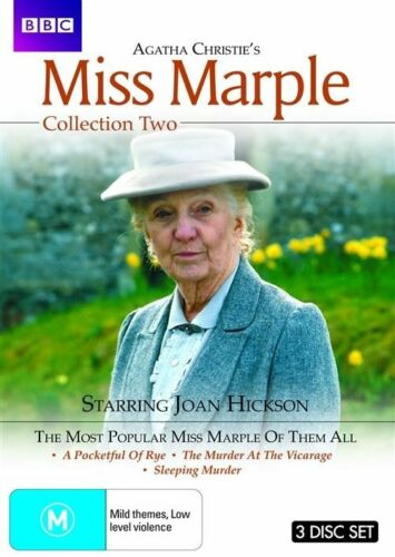 1 of 1 - Agatha Christie's Miss Marple : Collection 2 (DVD, 2010, 3-Disc Set)
