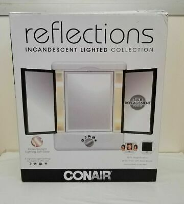 Conair Reflections Incandescent Lighted Makeup Mirror ...