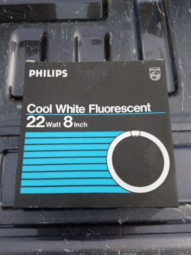 "3 NEW PHILIPS COOL WHITE FLUORESCENT 22 WATT 8/"" CIRCLINE BULB FC8T9//CW FREE SHIP"