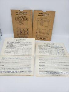 Vintage-Lot-School-Report-Cards-secondary-Columbia-High-School-SC-1960-1961