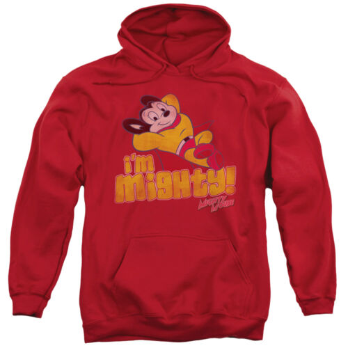 Mighty Mouse I/'M MIGHTY Vintage Style Licensed Sweatshirt Hoodie