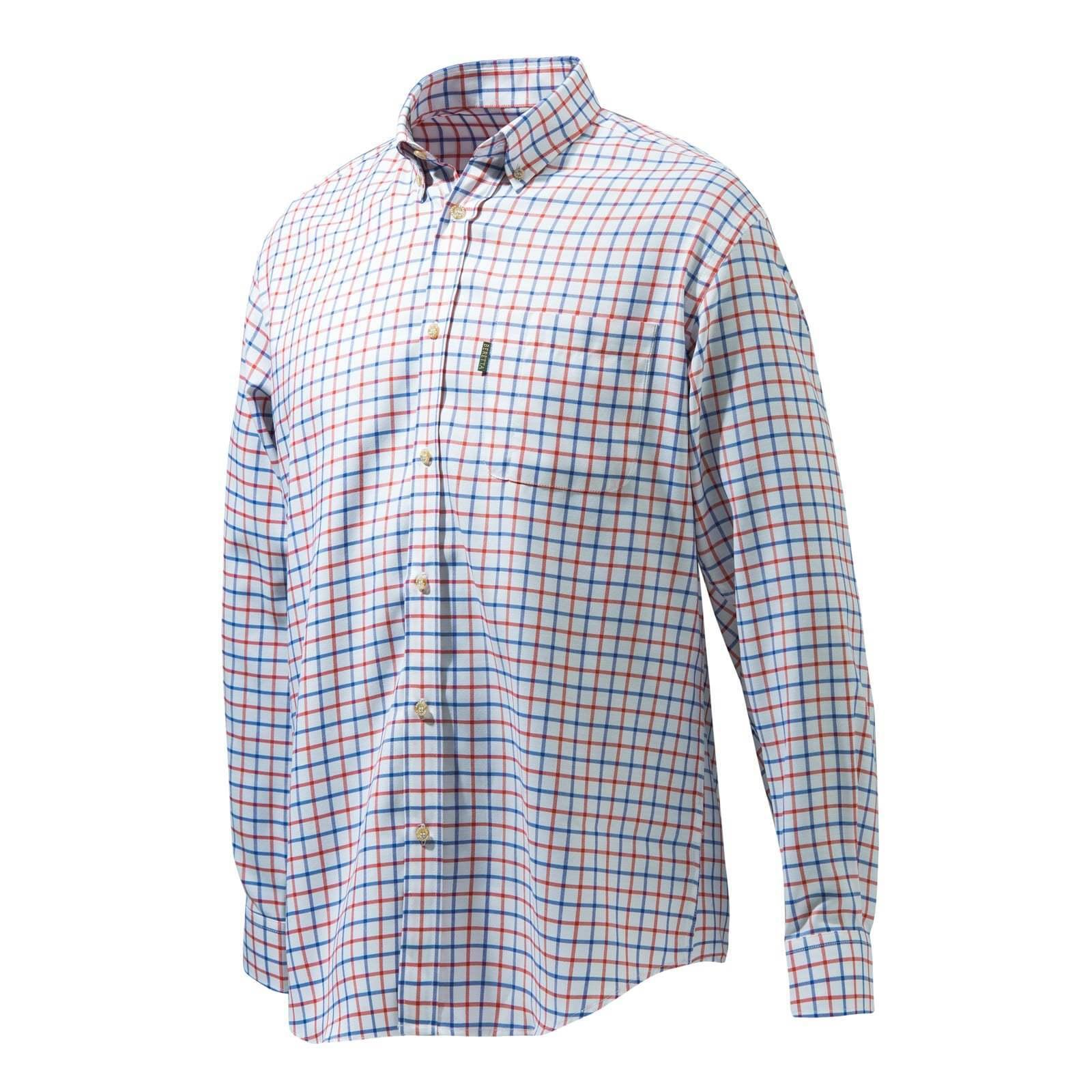 Beretta Classic Shirt - Red bluee White