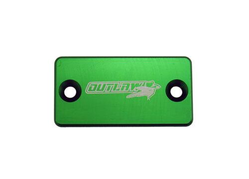 Outlaw Racing OR104GN Billet Front Brake Cap Green KAWASAKI KX125 KX250 KX450