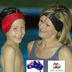 Image Is Loading S Men Women Swimming Swim Ear Head Band