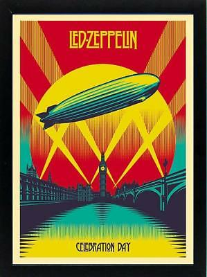 Led Zeppelin Poster Framed Quality Print and Framing 19x25 Inches