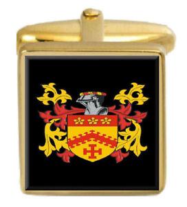 Warkup England Familie Wappen Heraldik Manschettenknöpfe Schachtel Set Graviert Den Menschen In Ihrem TäGlichen Leben Mehr Komfort Bringen