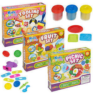 Tooling-Fruit-Picnic-Fun-Clay-Craft-Dough-Sets-Modelling-Kids-Toys-Shapes-Gift