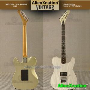 Kramer Motley Crue Mick Mars Telecaster Guitar 1990 AlienXnation Vintage