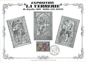 FEUILLET-PHILATELIQUE-SUR-EXPOSITION-034-LA-VERRERIE-034-A-MERS-LES-BAINS