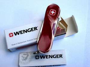 New Red Wenger Evolution 80 Swiss Army Knife New In Box