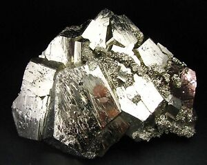 PYRITE-BRILLIANT-PENTADODECAHEDRAL-CRYSTALS-from-PERU-SUPERIOR-BRIGHTNESS
