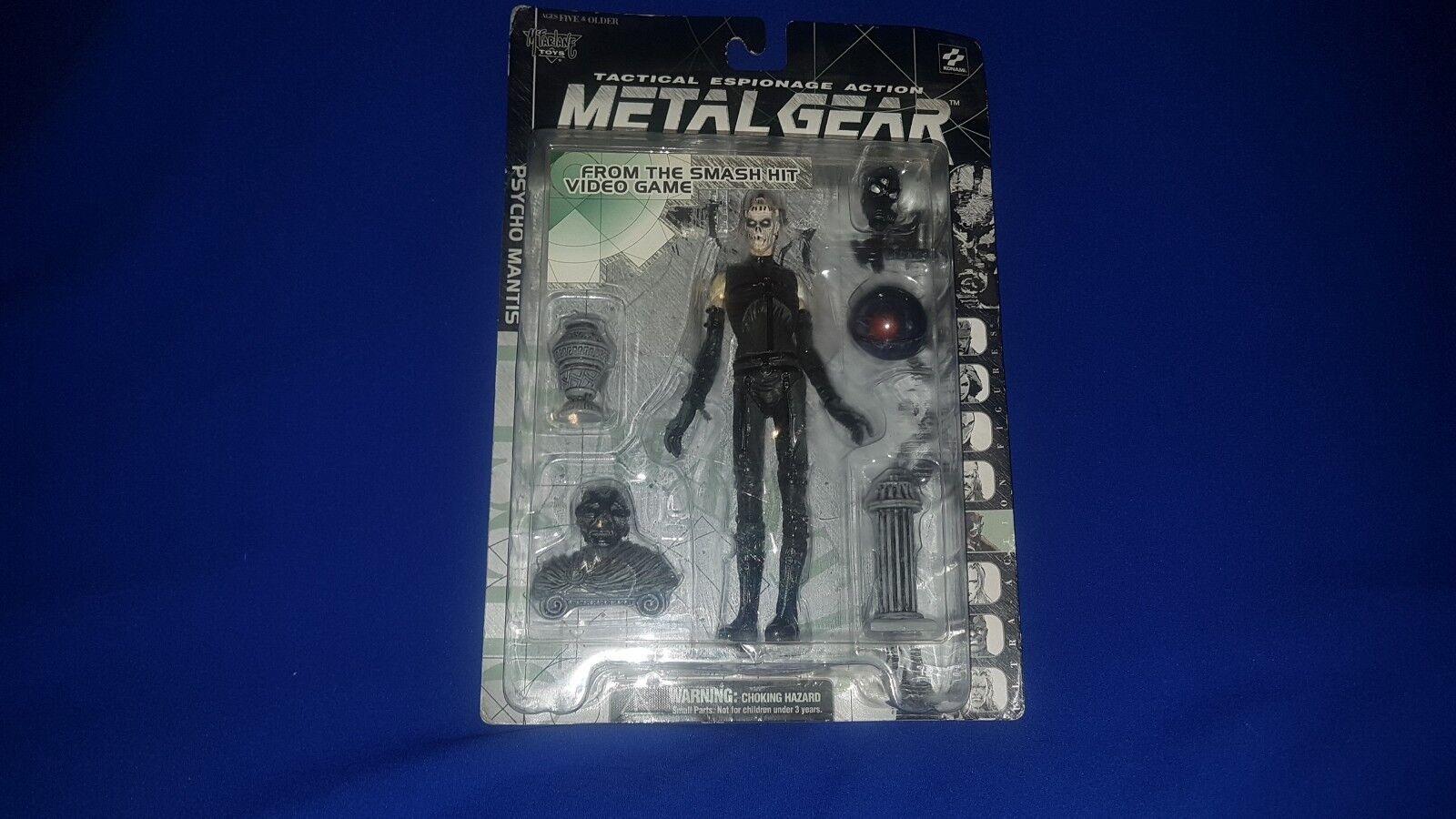 Metal Gear Solid McFarlane Action Figure Psycho Mantis 1998