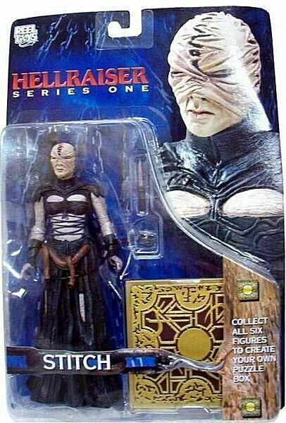 Hellraiser Serie 1 Stitch Figur PVC 16cm Neca
