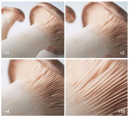 4 close-up filtro macro lente nahlinse close up closeup 58 mm dioptrías 58mm