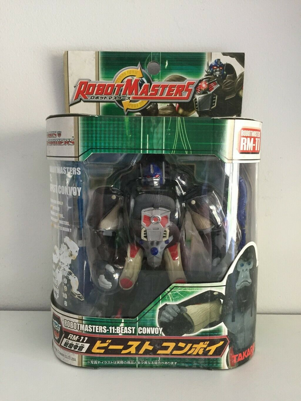 [NIB] Takara Transformers Robot Masters RM-11 General Commander Beast Convoy