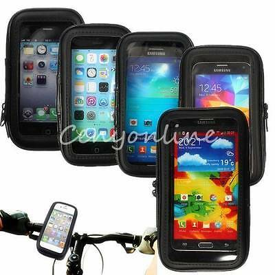 Waterproof Motorcycle Bicycle Cycling Bike Case Mount Holder for Mobile Phone