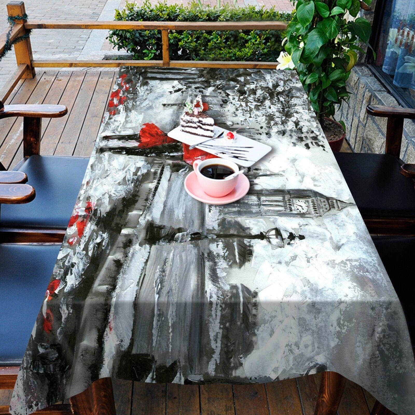 3D Parapluie Nappe Table Cover Cloth fête d'anniversaire AJ papier peint Royaume-Uni Citron