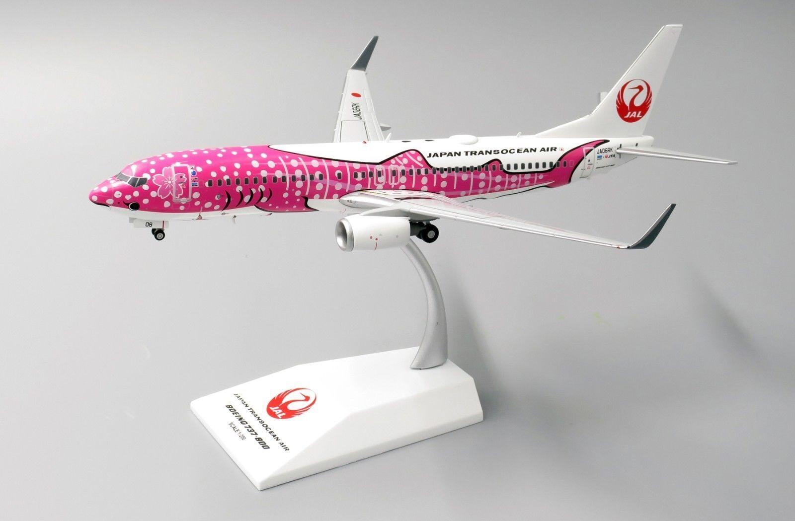 Jc Wings 1 200 Jal Japan Transocean Air Boeing B737-800w 'Sakura Jinbei' JA06RK
